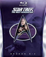 Star Trek: The Next Generation - Season 6 (Blu-ray Disc, 2014, 6-Disc Set)