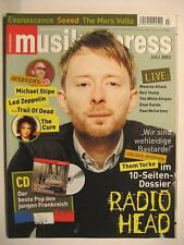 MUSIK EXPRESS SOUNDS 2003 # 7 - RADIOHEAD LED ZEPPELIN CURE TRAIL OF DEAD
