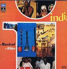 LP NEW INDIA NORTH INDIAN FOLK MUSIC  MUSICAL ATLAS UNESCO COLLECTION