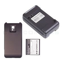 3500mAh Extended Battery + Back Cover + AC Charger For LG Optimus 2X P990