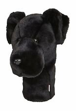 Golf Head Cover Club Iron Dapne's HeadCovers Protect Black Dog Funny unique gift