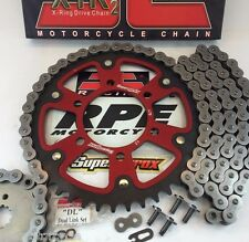 Z750 '04-11 ZR750 RED SUPERSPROX JT CHAIN AND SPROCKETS KIT KAWASAKI QUICK ACCEL