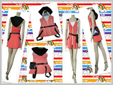Kingdom Hearts II 2 KAIRI Pink New Keyblade Fancy Dress Costume Cosplay