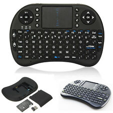 Useful Handheld 2.4G Mini Wireless Keyboard with Mouse Touchpad for PC Notebook