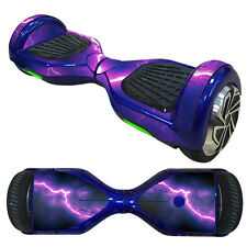 """For 6.5"""" Hoverboard Scooter Protective Skin Wrap Vinyl Case Cover Sticker Decal"""