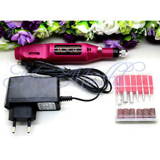 Pen Shape Electric Nail Drill Set File Bit Acrylic Manicure Pedicure Hot Sale Z