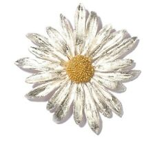 Daisy Brooch Pin by Michael Michaud - Silver Seasons
