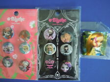 "2006 HASBRO BLYTHE DOLL BUTTONS :"" PRETTY FLOWER "" AND "" SWEET SURRENDER"" LOT !"