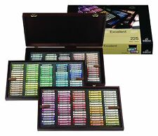 Rembrandt Artist Soft Full Size Pastels Wooden Box Set of 225 Colours