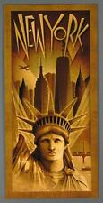 New York City, Metropolis, Statue of Liberty Freedom Tower Large Poster Brancato