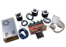 3 Axis CNC Kit Nema23 Stepper Motor USB Driver Mach3 Motion Control Power Supply