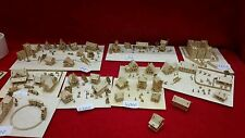 5 x bastelset kit h36 houses Landscape figuras scale 1/1000 top10 for Tiny Train