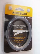 Komelon 12-Foot Stick and Measure Flat Tape Measure #F12   NEW