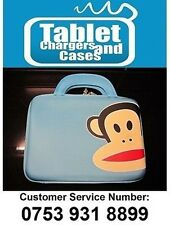 Blue Paul Frank Monkey Hard Shell Carry Case/Bag for Samsung Galaxy Tab 2