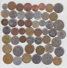 50 Different Countries World Coin Set - Used Coins - Please See Desciption