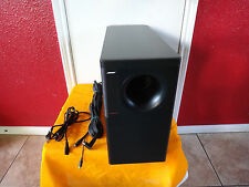 Bose Acoustimass 30 Subwoofer Seris-II Black & 13 Pin DIN for Lifestyle 20/25/30