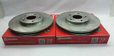 Genuine Brembo Set Front Rotors 05-14 Subaru WRX STi #09 7812 21