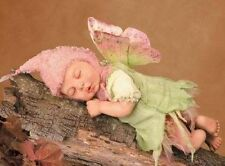 New In Box Anne Geddes WOODLAND FAIRY Laura Tuzio Ross SCULPT RARE Certificate