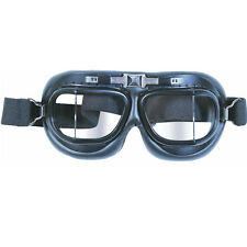 Milcom Black One Size Fits All Flyers Goggles Aviation Motorbike Military