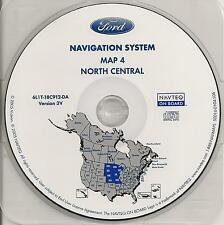 2003 2004 2005 2006 Ford Expedition Navigation CD Map #4 ND SD NE KS MN IA MO WI