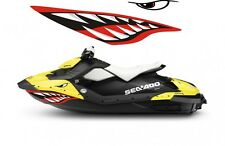 Sea-Doo Bombardier Spark 2 3 Jet Graphic Wrap Jetski seadoo shark mouth decals 2