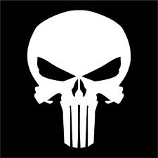 Punisher Decal / Sticker - Choose Size & Color - Marvel - Free Shipping