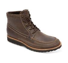 $170 NIB Rockport Union Street CB Hi Moc Leather Boots Casual 7M Brown M78564