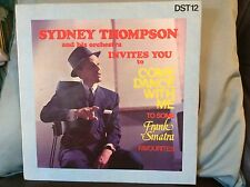 "SYDNEY THOMPSON - Come Dance With Me - Frank Sinatra 12"" LP 1974 #FREE P&P UK#"