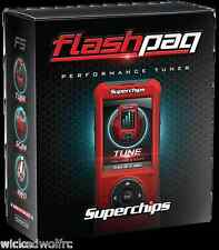 Superchips FlashPaq F5 1845 Tuner for Ford F150 F250 F350 Raptor Explorer Gas