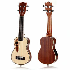 "21"" Professinal Soprano EQ Electro Acoustic Ukulele Uke Hawaii Guitar"