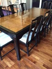 BEAUTIFUL CENTURY CHIN HUA RAYMOND SOBOTA DINING TABLE & CHAIRS FINE FURNITURE