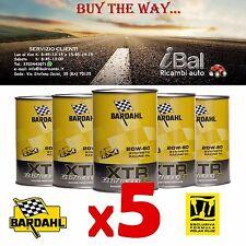 OLIO MOTORE XTR 39.67 RACING C60 20W-60 5 LITRI - BARDAHL 318039