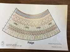MOLLIE JANE TAYLOR SMOCKING PLATE- PAIGE