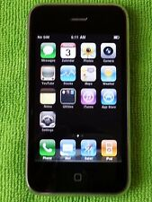 Apple iPhone 3G 8GB - (Factory Unlocked) T-Mobile, AT&T, Simple Mo, Straight Tal