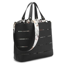New Fashion Two-in-One Leather Women Tote Shoulder Bag Briefcase Purse Handbag