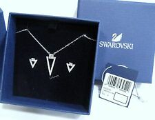 Swarovski Funk Set, Rhodium-plated Clear Crystal authentic MIB 5253052