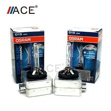 NEW OEM PAIR 2PCS OSRAM XENARC D1S 66144CBI ORIGINAL 5500K HID XENON LIGHT BULBS