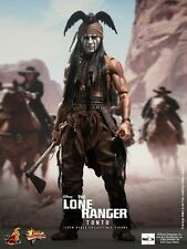 "HOT TOYS The Lone Ranger Tonto Johnny Depp 12"" Figure IN STOCK"