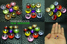 REAL NAGA GEM 9 COLOR MINI SET POWER ENHANCE GOOD FORTUNE LIFE THAI AMULET