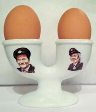ON THE BUSES Jack & Stan DOUBLE EGGCUP Reg Varney & Bob Grant EGG CUP