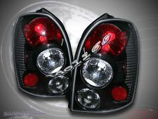 2002-2003 MAZDA PROTEGE-5 5 DR TAIL LIGHTS BLACK LAMPS