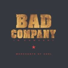 Bad Company - Merchants Of Cool: In Concert (2002 Sealed CD)