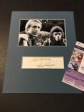 Roddy McDowall Signed Index Card JSA Authenticated Autograph