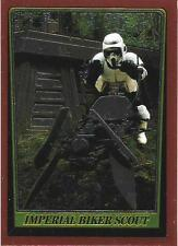 1999 Topps Star Wars Chrome Archives #80 Imperial Biker Scout