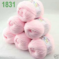 Sale 6 ballsx 50gr DK Baby Soft Cashmere Silk Wool hand knitting Crochet Yarn 31