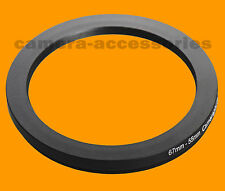 67mm a 55 mm 67-55 stepping Step Down Filtro Anello Adattatore 67-55mm 67mm-55mm