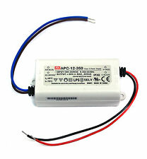 1x LED Power Supply Constant Current Driver APC-12-350 350mA 12W 9~36V Mean Well