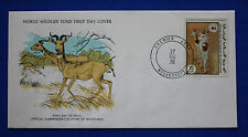Mauritania (384) 1978 Endangered Animals - Dama Gazelle WWF FDC