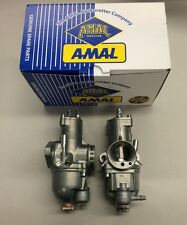 TRIUMPH CARB SET AMAL 626 CARBURETORS RIGHT/LEFT- NEW!!!