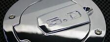 SHR Mustang Tru-Billet Chrome, Engraved with 5.0  Fuel Door - 2010-2014